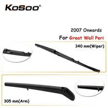 Щетка стеклоочистителя kosoo 340 мм для great wall hover peri