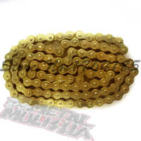 NEW HEAVY DUTY 428 102 LINKS GOLD O-RING CHAIN 428-102
