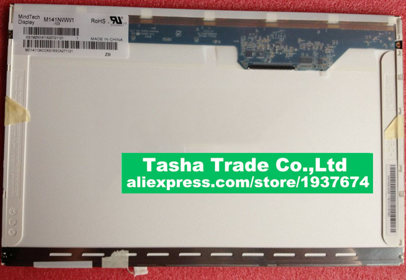 M141NWW1-102 LCD Display Screen 14.1 inch CCFL LVDS 30Pins Good Quality IVO 14.1 inch LCD