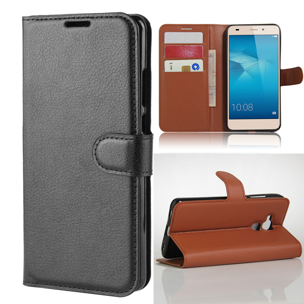 Wallet <font><b>case</b></font> Card Holder Phone <font><b>Cases</b></font> for Huawei <font><b>Honor</b></font> <font><b>7</b></font> <font><b>Lite</b></font> 5.2-inches pu Leather Cover <font><b>Case</b></font> Protective holster image