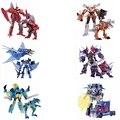 2017 New Retail Juguetes transformación Dinobots Grimlock Babosa Ametrallar Coche Robot Figura de Acción de Regalos Para Los Niños Juguetes Brinquedos