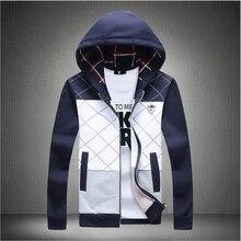 Heißer Verkauf 2016 Neue Frühling Herbst Designer Mode Mann Hoodies Sweatshirt Patchwork Männer Beiläufige Dünne Herren Pullover Und Sweatshirts
