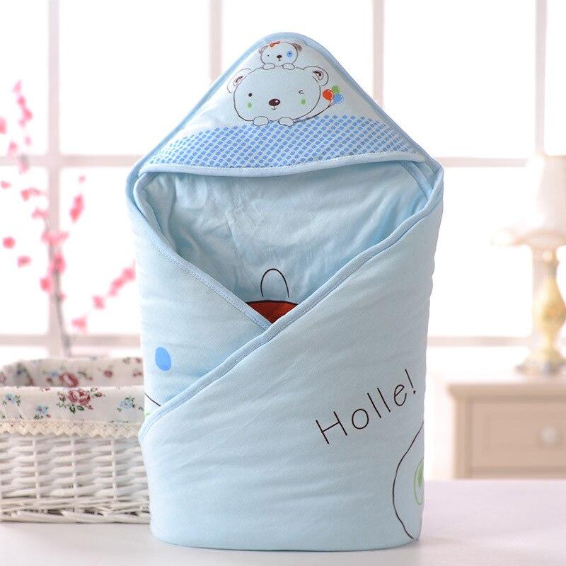 2018 новорожденных натуральный хлопок мешок для новорожденных весна, весной и осень-зима дети мультфильм Стёганое одеяло быть ногами Стёгано...