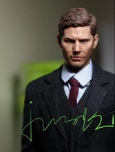 1/6 Jensen Ackles Dean Winchester Head for Supernatural 12 MALE PHICEN HOTTOY Tbleague Toys