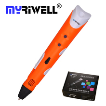 New Creative 3D Printing Pens Intelligence Drawing 3D Pen With ABS Filament 3D font b Best