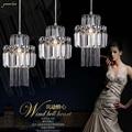 Подвесная хрустальная лампа для столовой  3 светильника  подвесное освещение для ресторана  Хрустальная Подвесная лампа для кухни  бара  спа...
