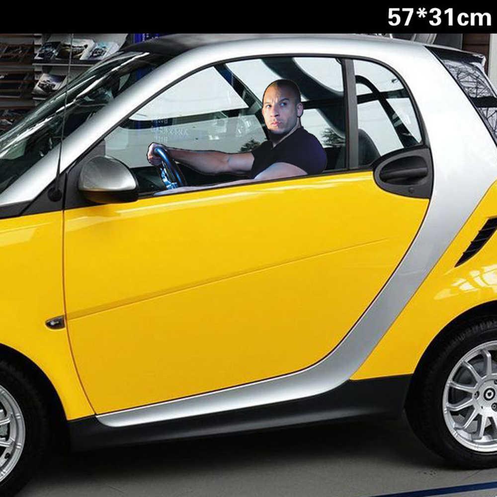 車のスタイリング · スピードポール · ウォーカーvinディーゼル車の窓ステッカーガラスアクセサリーメインドライブ視点用156