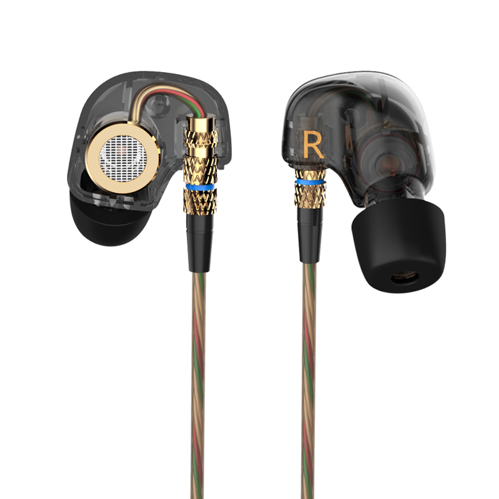 100% d'origine KZ ATE 3.5mm dans l'oreille des écouteurs stéréo - Audio et vidéo portable - Photo 5