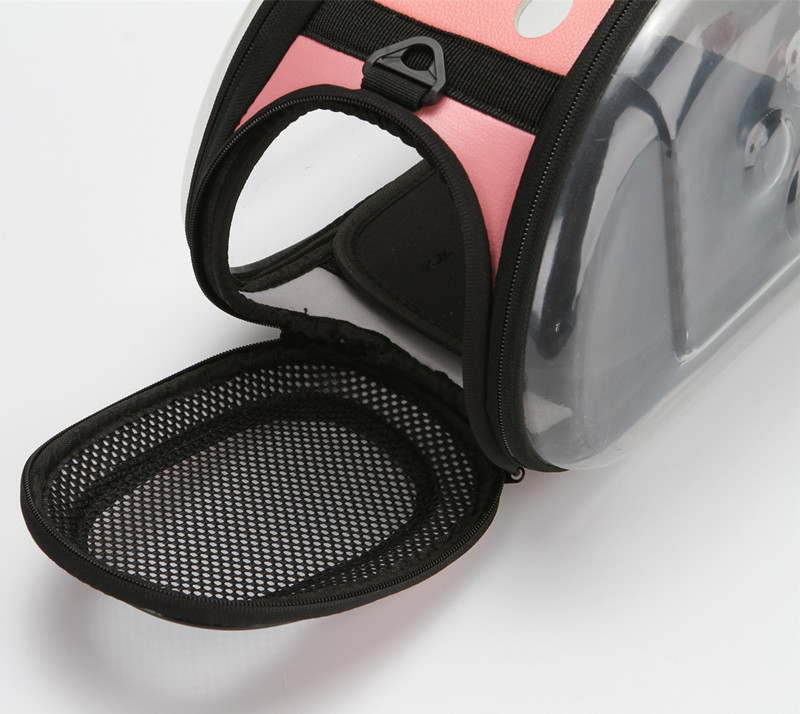 Petminru Transparent Cat Dog Carrier Bag Breathable Pet Travel Handbag Foldable Outdoor Shoulder Bags Puppy Travel Carrying Bags #6