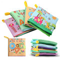 Baby Toys Soft Cloth Books Rustle Sound Infant Educational Stroller Rattle Toy Newborn Crib Bed Baby Toys 0-36 Months HT3766