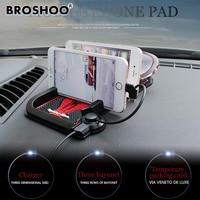 BROSHOO Universal Car Dashboard Anti Slip Mat Non Slip Pad Charging For Android Iphone Smart Mobile