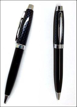 B0004 metal la pluma de la pluma bolígrafo fibra de carbono pluma puede hacer su logotipo para la promoción y escritura 1000 unids/lote