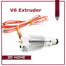 Extruder 3D V6 3D Print J-head hotend for 1.75mm/3mm Direct Filament Wade Extruder 0.2/0.3/0.4/0.5mm Nozzle long distance