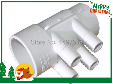 PVC Water plumbing Manifold 24 pcs 3/4 Ports without dead end , 2 PVC Manifold with 4 port for,Spa Hot tub