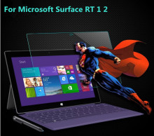 Für Microsoft Surface RT/Pro 1 2 Tablet 2.5D Arc Rand 0,26mm Utra tihin Anti-explosion Hartglas Displayschutzfolie