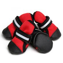 2018 Real Sale Small Medium Large Sizes Outdoor Dog Shoes For Sports Mountain Wearable For Pets Soles Winter Autumn Shoes(China)