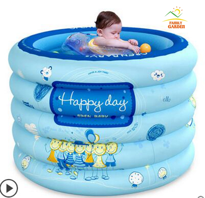 Family swimming pool extra large inflatable pool suit for for Best rated inflatable swimming pool