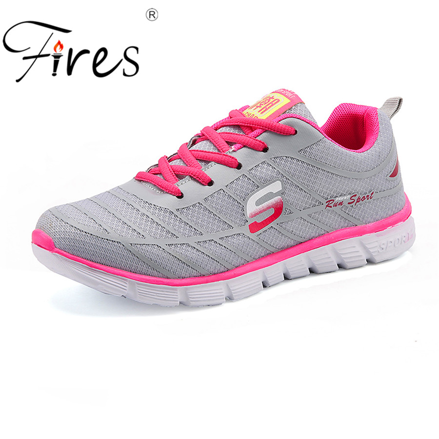 Fires Women Sneaker Outdoor summer Running Shoes Breathable Sneakers walking Shoe Lady Athiletic Sport Shoes zapatillas mujer