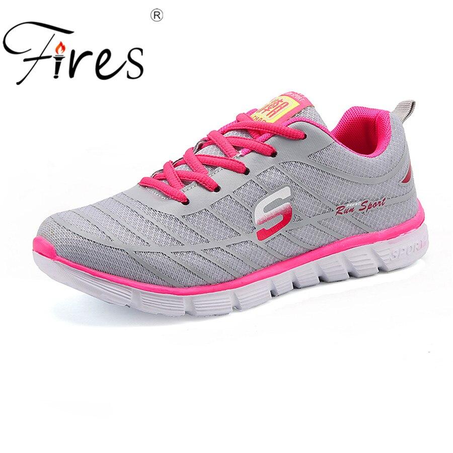 Incendies printemps Femmes Baskets En Plein Air Lumière Chaussures de Course Sport Sneakers Chaussure de marche Dame Athiletic Sport Chaussures zapatillas mujer