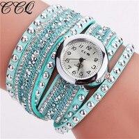 CCQ Fashion Womens Watches For Top Luxury Brand Diamond Belt Luxury Brand Women S Rhinestone Watches