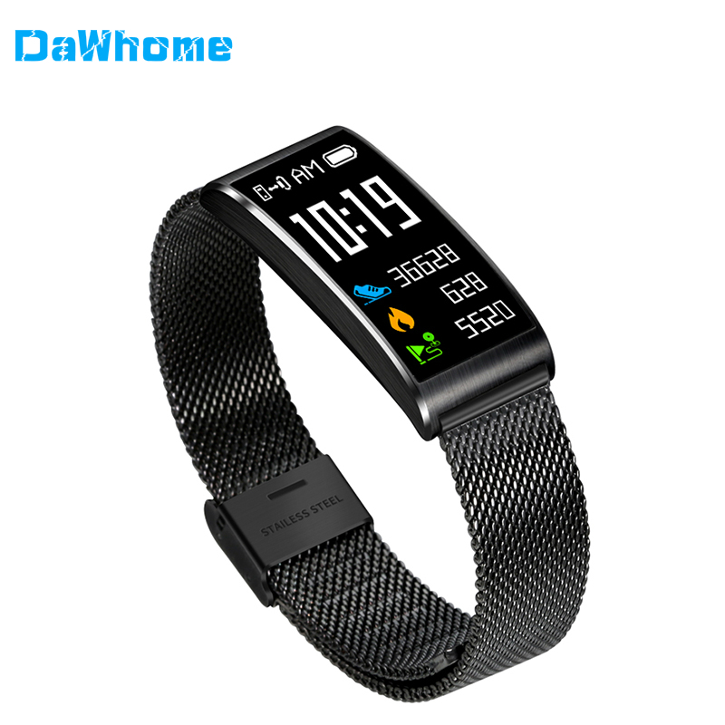DaWhome IP68 Waterproof SmartWatch Fitness Bracelet Pedometer Blood Pressure Smart Wristband Android IOS Fitness Tracker