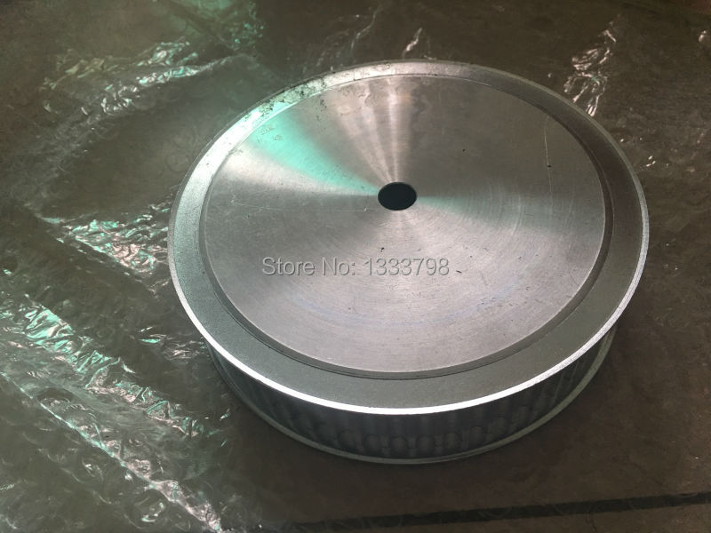 Customized AT20 aluminum alloy  material timing belt pulley customized manufacture htd5m alloy belt pulley