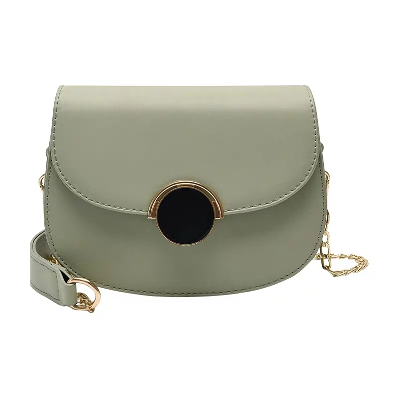 JUILE Ins same fashion Women's bag exquisite saddle Bag shoulder pu leather ladies handbag Messenger girl mobile wallet