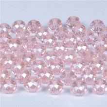 купить 4mm 6mm 8mm Czech Faceted Ab Round Ball Glass Beads for Jewelry Making Handicrafts Women Diy Perles Loose Crystal Spacer Beads недорого