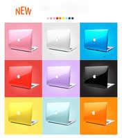 Coque pour ordinateur portable Apple MacBook Air Pro Retina 13 15 11 12 pour Macbook Air 13.3 15 cristal Transparent étui rigide 2019 Pro13 A2159