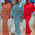 Fashion vestido 2016 New Autumn Women Maxi Beach Long Cocktail Party Dress