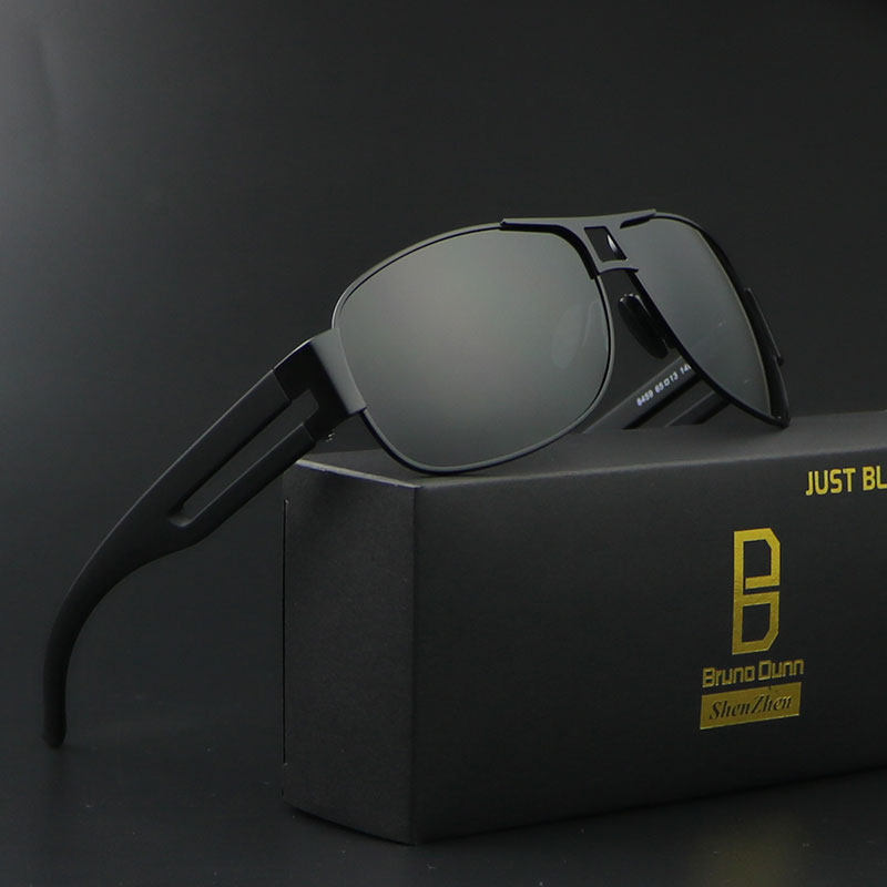 Bruno dunn Homens Dos Óculos De Sol 2018 Polarized Marca Designer Sunglases  Masculino glases óculos de 3cb19601e5