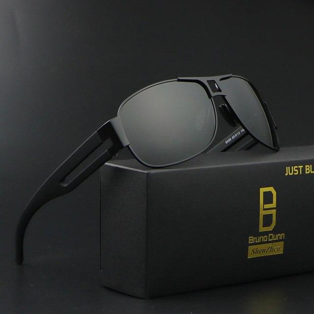 a1cb9e606e2 Bruno dunn Homens Dos Óculos De Sol 2018 Polarized Marca Designer Sunglases  Masculino glases óculos de