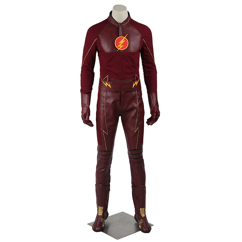 Aliexpress.com : Buy The Flash Barry Allen Cosplay Costume ...