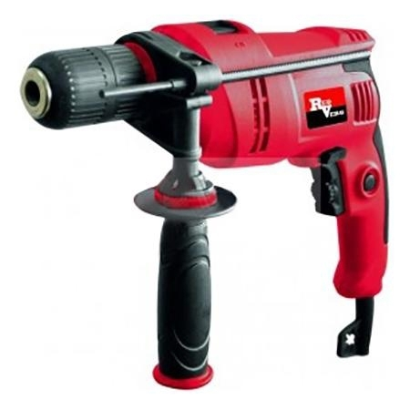 Impact drill RedVerg RD-ID850S (Power 850 W no-load speed 3000 rpm, reverse) drilling machine redverg rd 4113 power 350 w speed from 620 to 2620 rpm