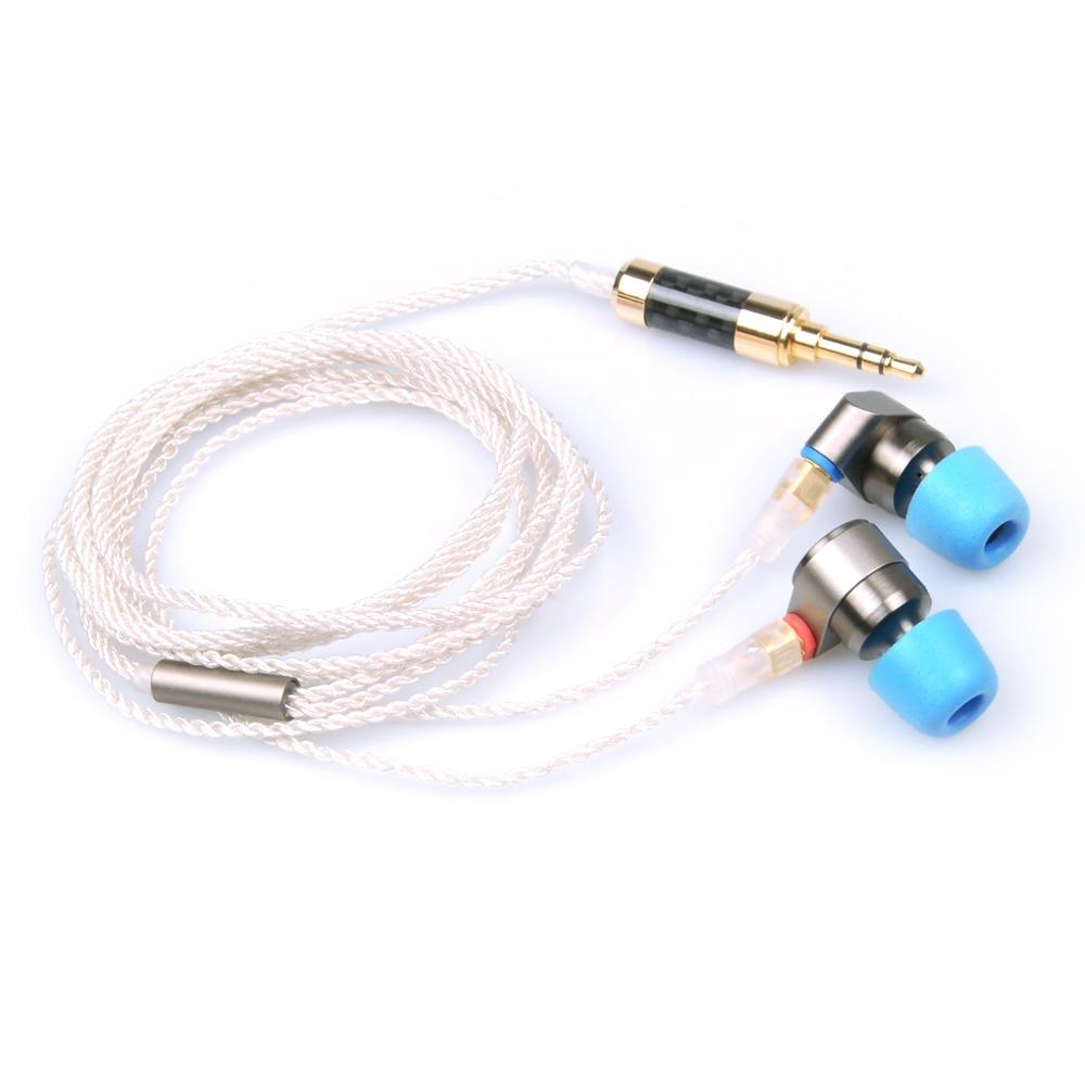 Estaño de Audio T2 3,5mm en el auricular del oído doble dinámicos conducir auriculares HIFI bajo DJ auriculares de Metal MMCX desmontable auriculares T515/T1 - 4