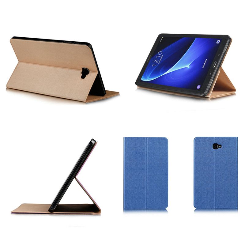 CY Flip Fashion Multi-angle Cover Stand PU Leather Shell Case For Samsung Galaxy Tab A A6 10.1 2016 T585C SM-T580N T580 Tablet tablet case for samsung galaxy tab a 10 1 p585 flip leather case cover slim protective stand shell case for samsung sm p585 skin