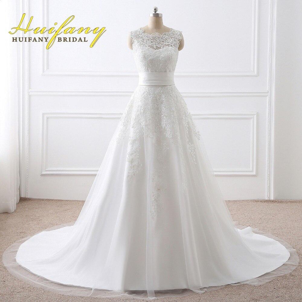 Vestido de noiva 2 em 1 huifany real bridal wedding for Wedding dresses 2 in 1