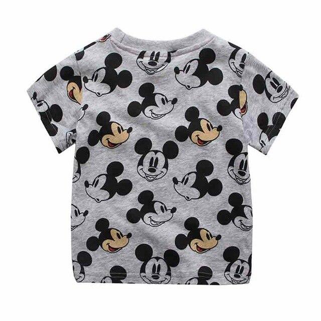 da907d33d 2018 camisetas de moda para niños camisetas para niñas y bebés estilo  Mickey Tops camisetas ropa para bebés traje 18M 6Y en Camisetas de Mamá y bebé  en ...