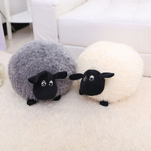20-50cm Goat Grey White Sheep Stuffed Plush Toy Doll Animal Girl Valentines Gift  Fast Delivery Good Quality Soft Cute Lamb Fat