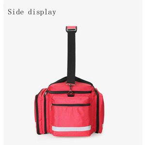 Image 4 - Outdoor First Aid Kit Outdoor Sports Red Nylon Waterproof Cross Messenger Bag Family Travel Emergency Bag DJJB020