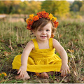 Sun Moon Kids Baby Girl Dress Cute Dress Baby Girls Wedding Children's Costumes 2017 Summer Fashion Baby Girl Clothes Dresses