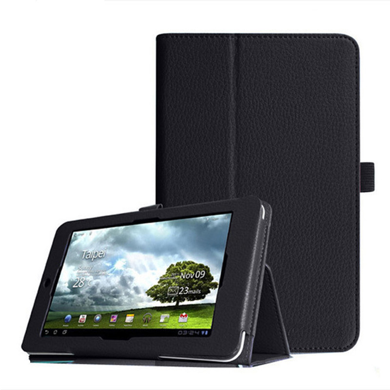 Stand Flip PU Leather Tablet Case For ASUS MeMOPad MeMO Pad HD7 ME173X ME173 K00B K00U 7.0 inch Leather protective Cases+Pen