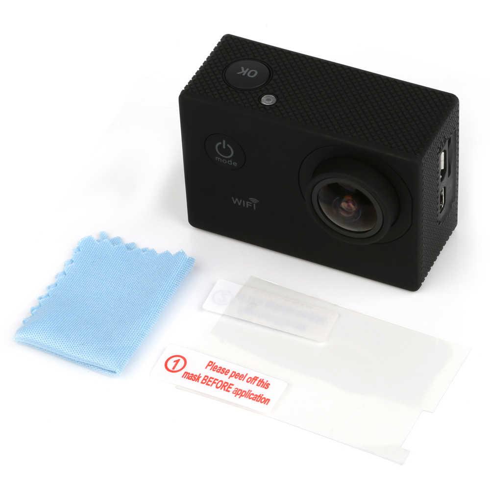 Menembak LCD Screen Protector Tempered Film Pelindung Kaca untuk SJCAM SJ9000 SJ4000 SJ5000 Wifi SJ6000 Aksi Kamera Aksesoris
