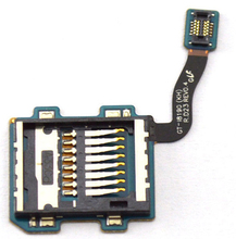 Whloesale 10pcs/lot Original Top Quality For Samsung S3 mini i8190 Sim Micro SD TF Card Slot card holder replacement