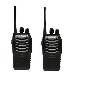 2PCS BaoFeng BF-888S mini Walkie Talkie Baofeng BF 888s UHF400-470MHz Handheld Two-Way Radio Upgrade Version for BF-777s BF-666s фото