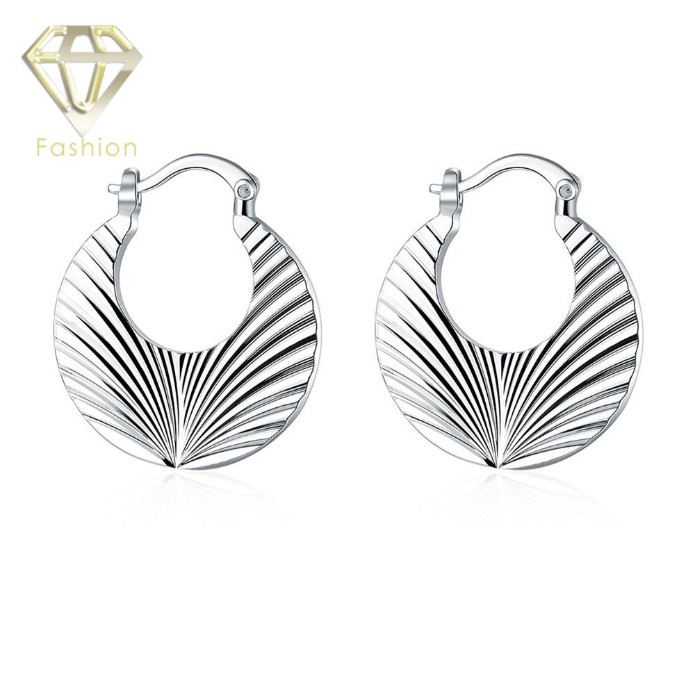 Ear Cuffs New Fashion Christmas Gift Simple Silver Plated Cute Leaf Clip  Earrings For Women Party