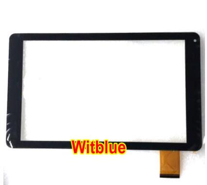 Witblue New Touch Screen Panel Digitizer Glass ZYD101-70V01 Replacement Sensor For 10.1 tablet Free Shipping original new qumo quest 503 touch screen front panel digitizer glass sensor replacement free shipping