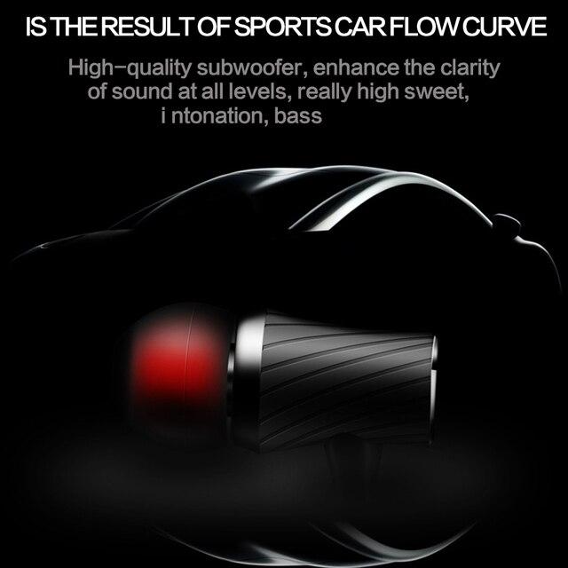 QKZ X9 Earphone Super Bass Go Pro Clear Voice Metal-Ear Earphones Mobile Computer MP3 Universal 3.5MM Headset fone de ouvido