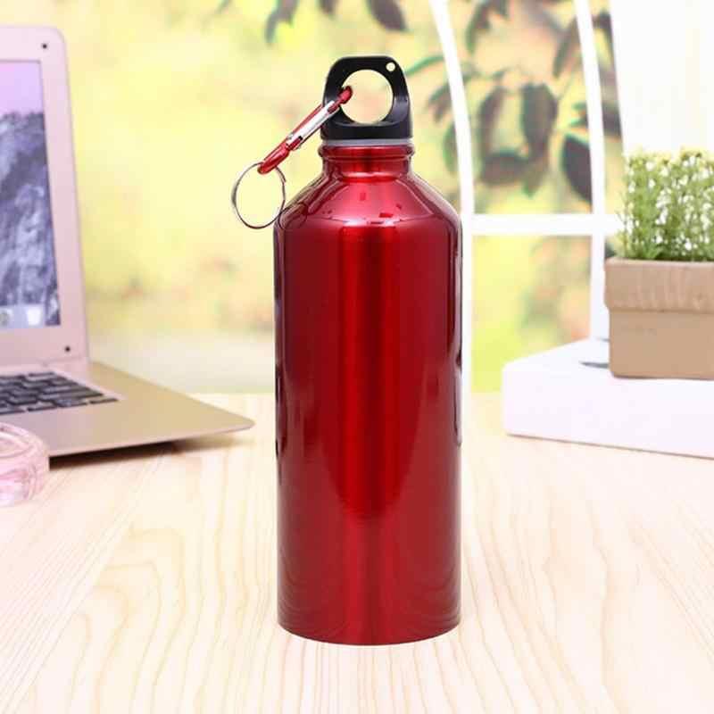 400 ml/500 ml/600 ml 휴대용 물병 야외 운동 플라스틱 자전거 스포츠 물병 마시는 알루미늄 소재 쉬운 ca