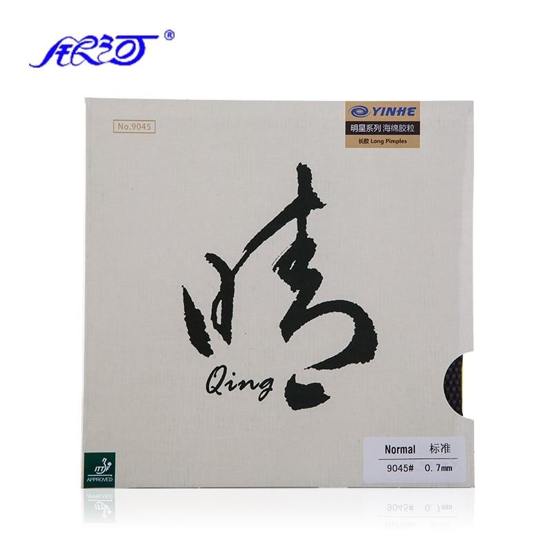 YINHE Galaxy QING / Qing SOFT Pips Long Table Tennis Rubber With / Without Sponge Pips-long Ping Pong Topsheet OX Tenis De Mesa